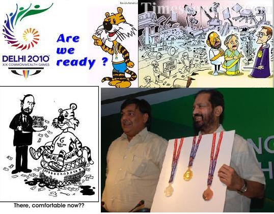 CommonWealth Games 2010 and Mr Suresh Kalmadi - What a combination